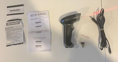 2.4ghz Wireless Barcode Scanner Usb Cordless 1d Laser Barcode Reader Handhold