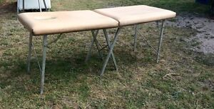 Leather massage table Caulfield South Glen Eira Area Preview