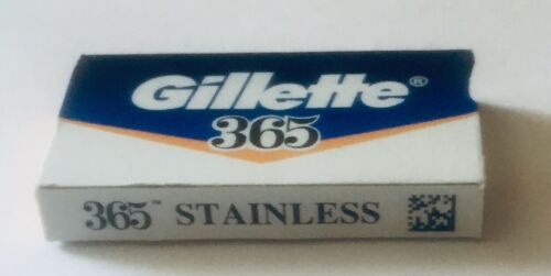 365 Stainless Razor Blades By Gillette, Great Double Edge Bl