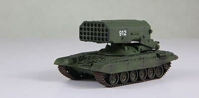 Multiple Rocket Launcher - MODELCOLLECT 1/72 AS72013 TOS-1 SOVIET MULTIPLE ROCKET LAUNCHER TANK 1989