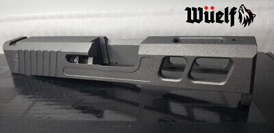 Glock 43/43x Slide Omega Series by Wüelf in Tungsten