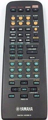 ORIGINAL YAMAHA REMOTE CONTROL  RAV304 WE45890 EU - RX-V457 HRT5730  RX-797
