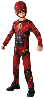 Flash Justice League Classic Kinder Kostüm Karneval (Flash Superhelden Kostüme)