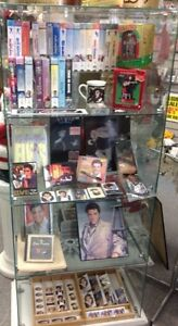 VHS Elvis Presely Tapes
