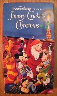Jiminy Cricket's Christmas - Walt Disney VHS rare Mickey Mouse short from 1932