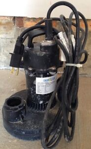 BUR CAM Sump Pump (Needs Repair)