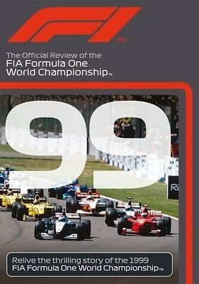 FORMULA ONE 1999 - F1 Season Review - MIKA HAKKINEN Grand Prix 1 - Reg Free DVD