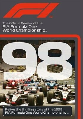 FORMULA ONE 1998 - F1 Season Review - MIKA HAKKINEN Grand Prix 1 - Reg Free DVD