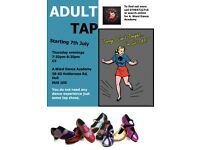 NEW Adult Tap Class Starting Thursday 7th of July