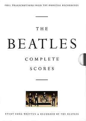 """THE BEATLES""-COMPLETE SCORES-DRUMS/GUITAR-TAB MUSIC BOOK/OVER 200 SONGS NEW!!"