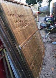 Quality Fencing Panels x 3