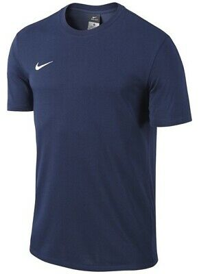 Men's New Nike Team Dri-Fit T-Shirt Top - Fitness Gym Training Running - Navy