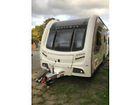 Lovely Coachman Pastiche 2013 4 berth Fixed Bunk Beds End Bedroom