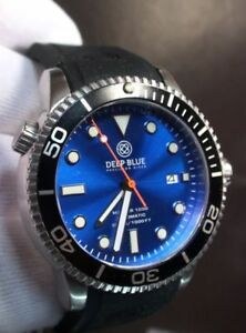 Deep Blue Master 1000 Professional Dive Automatic Watch