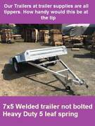 7X5 box tip trailer ! Hot dip Galvanised TIPPER trailer Noble Park North Greater Dandenong Preview