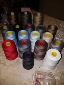 Over 100 Sewing Threads in different colours (bulk)