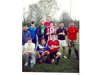 Looking for players for weekly friendly 5 a side football