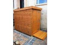 Mobility Scooter Sheds For Sale, Made To Order 5ft x 4ft £280.00