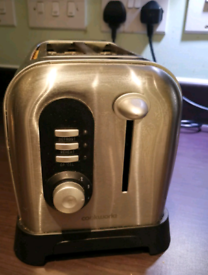 COOKWORKS 2 Slice toaster in steel finish