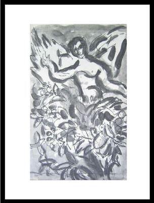 Cherubim  By Marc Chagall  Framed Fine Art