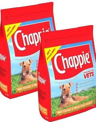 CHAPPIE - (2x15kg) - Chicken Wholegrain Complete Dog Food bp Pet Feed k