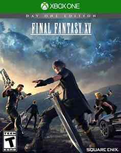 New Final Fantasy XV Day One Edition