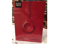 Beats by Dre Solo 2 Wireless (Red)