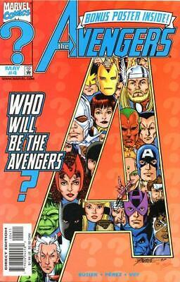 Avengers #4 (Vol 3)