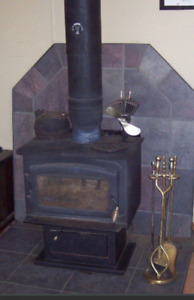 Wood stove with some accessories $500