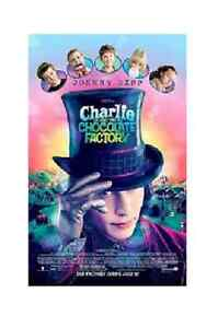 Charlie And The Chocolate Factory Posters