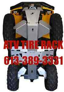 Ricochet OffRoad Skid Plates Canada ATV TIRE RACK We Price BEAT!