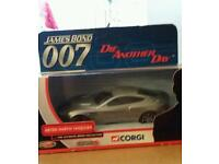Corgi james bond car mint in box
