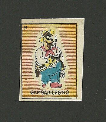 Black Pete Vintage 1940s Walt Disney Card Italy