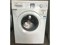 8kg Bosch loggixx vairoperfect washing machine, new model, 3 months warranty