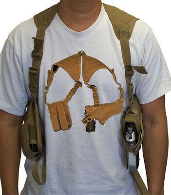 Tactical Cross Draw Shoulder Pistol Gun Holster - (Cross Draw Pistol)