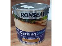 Ronseal Decking Stain, country oak