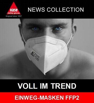 TOP-SELLER: 20 x Atemschutzmaske FFP2 NR mit Ohrschlaufen und Nasenclip NEU OVP