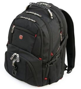WENGER SWISSGEAR NOTEBOOK LAPTOP BACKPACK SW-8112 15.6