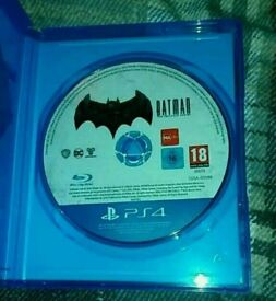 PS4 batman telltale game