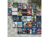 Set of DVDs and Blu-rays
