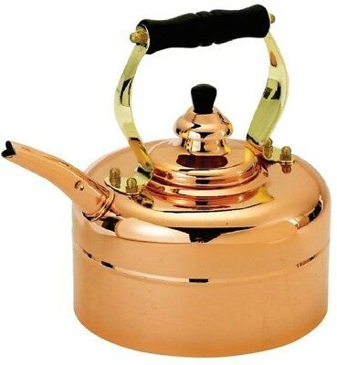 Copper 3-qt. Tri-Ply Windsor Whistling Tea Kettle
