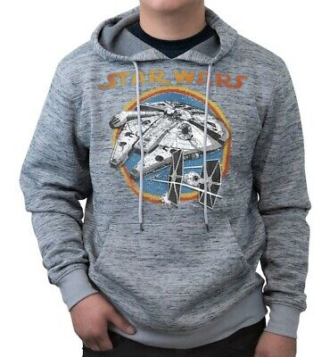 Official Star Wars Movie Disney Lucasfilm Adult Men's Pullover Hoodie BNWT