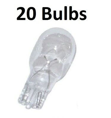 11 Watt Wedge Base - 20 Landscape Bulbs for Philips 415828 11-Watt T5 12-Volt Wedge Base