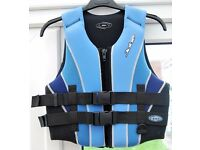 Jobe Combat Lady's Water Ski Vest, Size Small, UK 8/10.