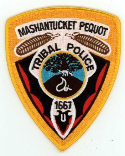 CONNECTICUT CT MASHANTUCKET PEQUOT TRIBAL POLICE  NEW PATCH SHERIFF