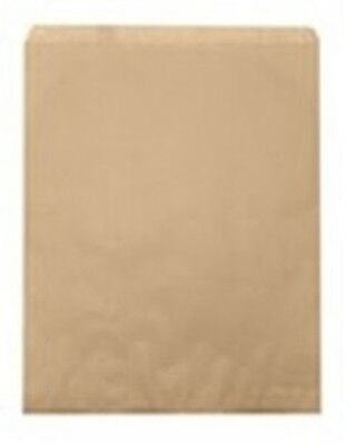 500 Large Kraft Merchandise Retail Paper Gift Bags 12 X 15 Tall