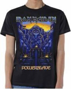 "Iron Maiden ""Powerslave"" T-shirts Official Licenced NEW"