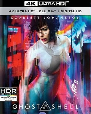 Ghost In The Shell 4K Uhd 4K  Used  Blu Ray Only Disc Please Read