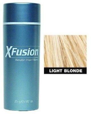 X-Fusion Keratin Hair Fibers Light Blonde 0.87oz, used for sale  Shipping to India