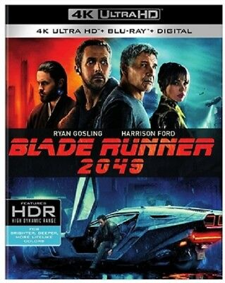 Blade Runner 2049 4K Uhd 4K  Used  Blu Ray Only Disc Please Read